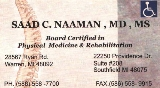 Saad Naaman Business Card